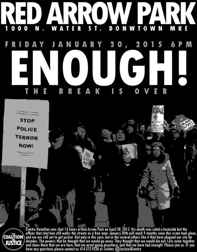 Jan 30, 2015: Enough